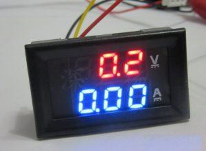 цифровой вольтметр амперметр постоянного тока DC 0-100V 10A с отдельным питанием